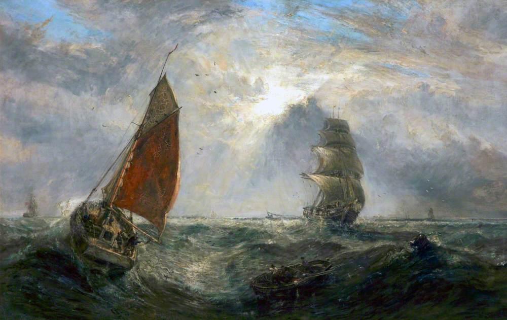 Homeward Bound, Making for the Mersey