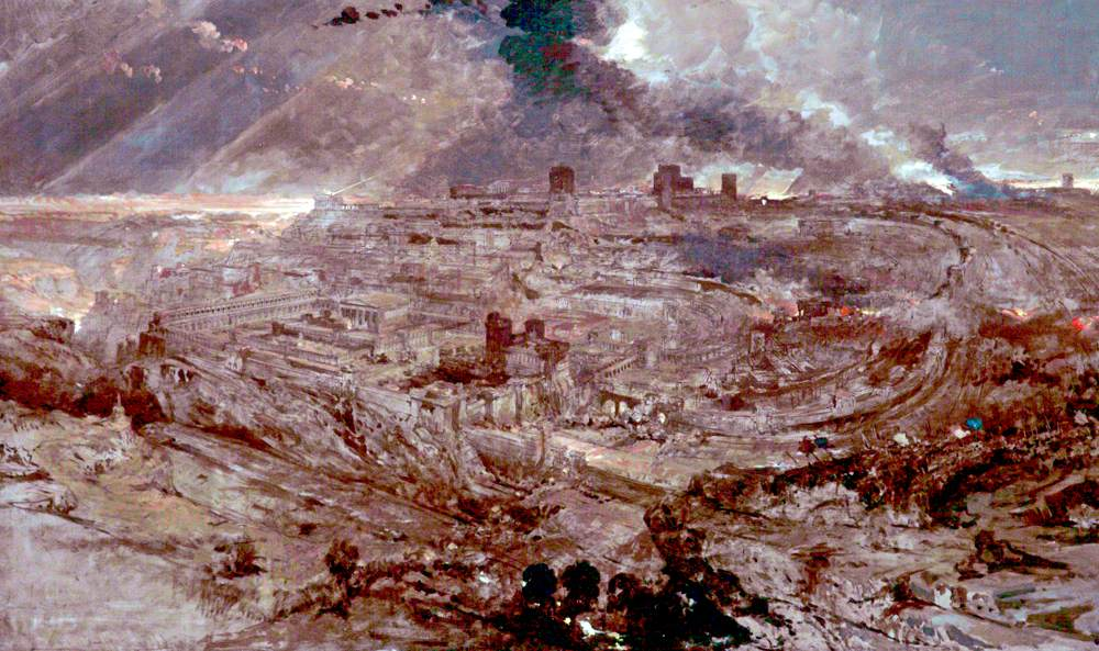 The Siege and Destruction of Jerusalem by the Romans under the Command of Titus, AD 70