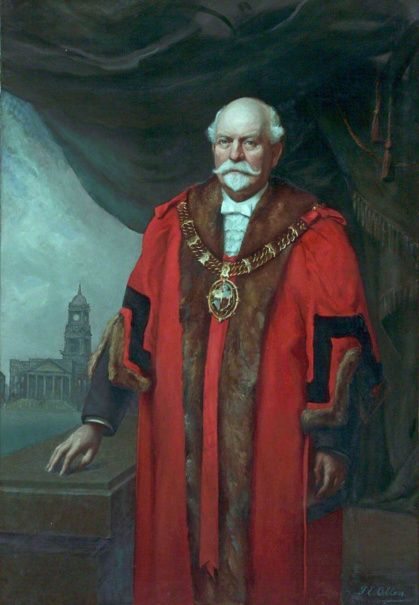 James Merritt, JP, Mayor of Wallasey
