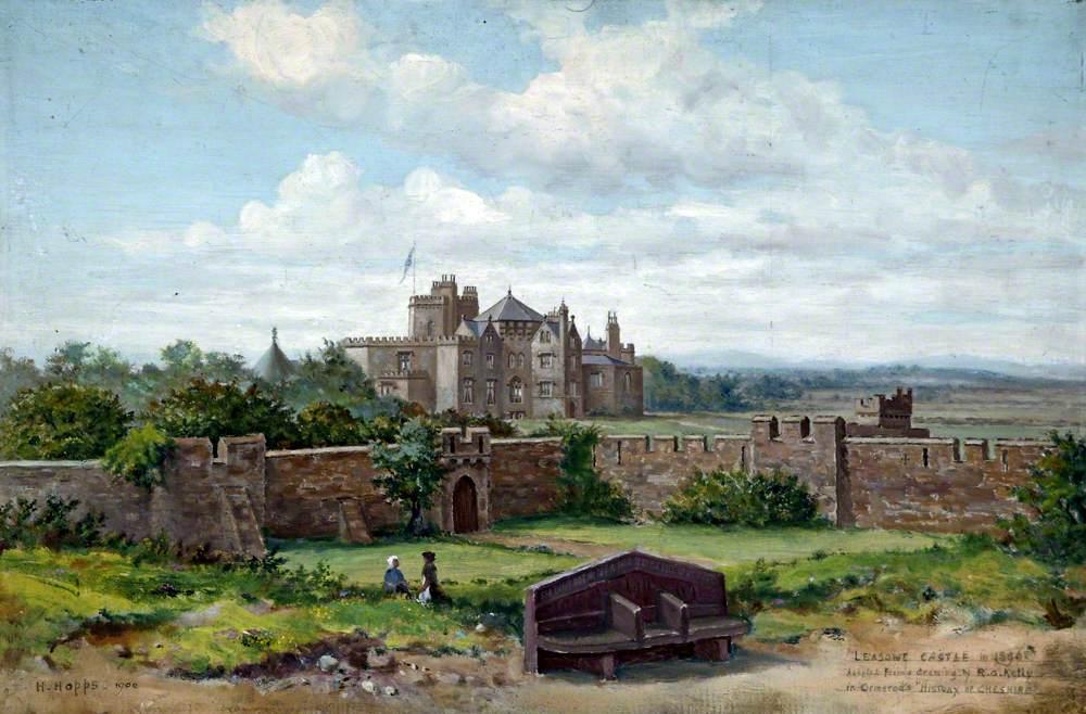 Leasowe Castle, Wirral, in 1896