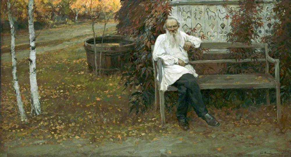 Count Leo Tolstoy (1828–1910) (The Great Man of Russia)