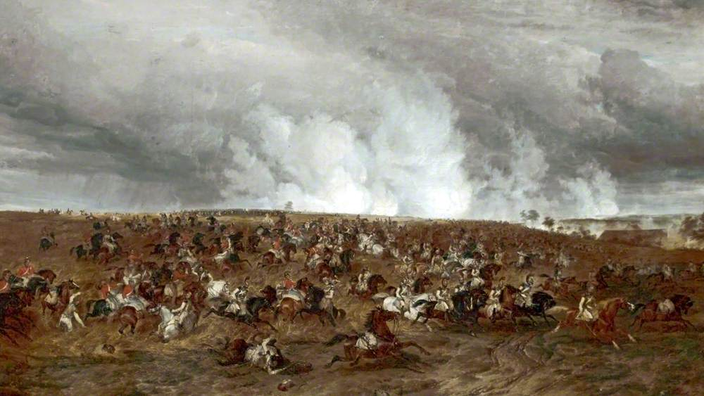 The Battle of Waterloo, 16–19 June 1815, the Defeat of Kellerman's Cuirassiers