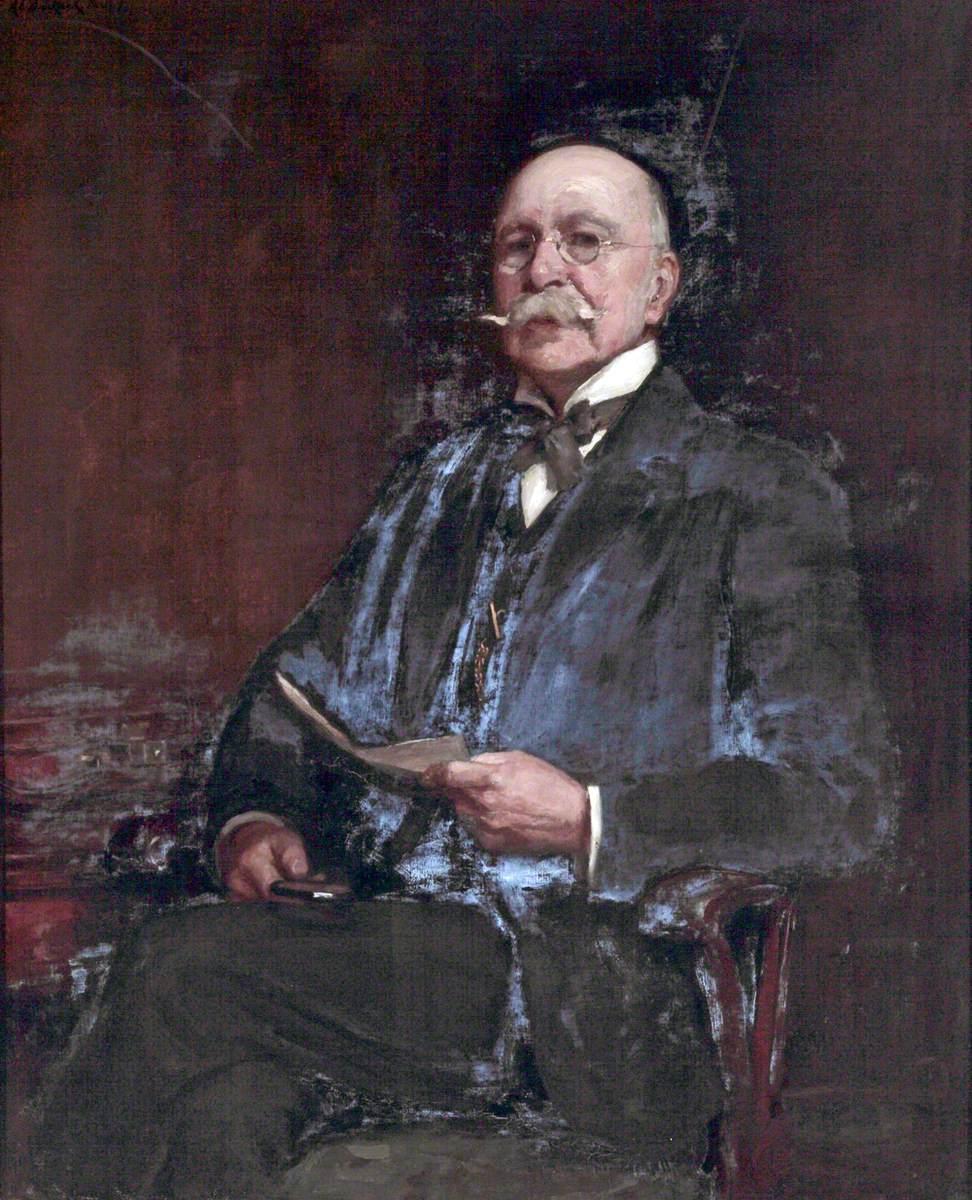 Alderman A. Ashby, JP, Chairman of Bromborough District Council