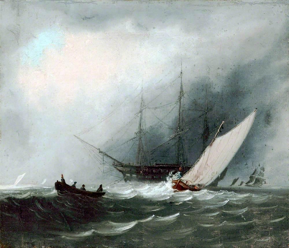 Sailing Ship (Man of War)