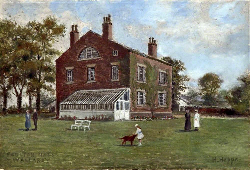 Poulton Hall, Wallasey, Wirral