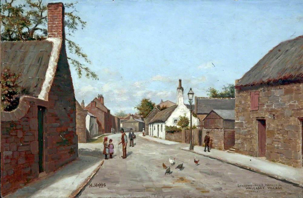 Leasowe Road Corner, Wallasey Village, Wirral