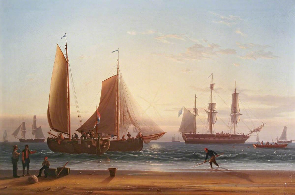 Dutch Schuyts on the Beach
