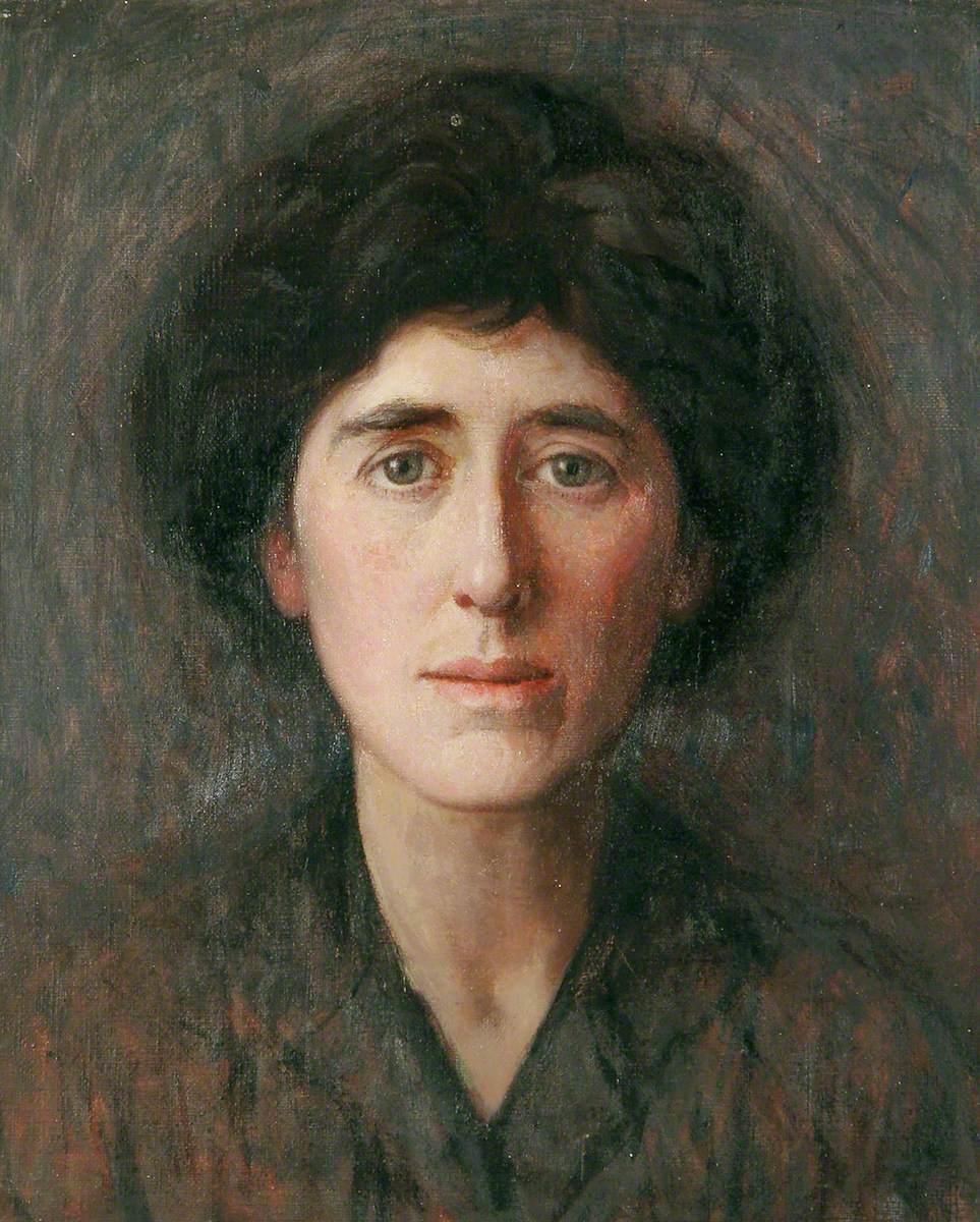 Helen Dexter, the Artist's Wife