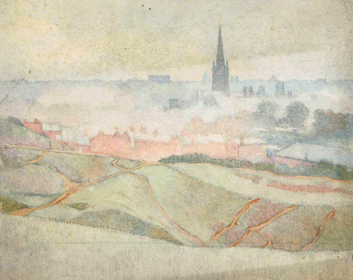 Norwich from Mousehold, Norfolk