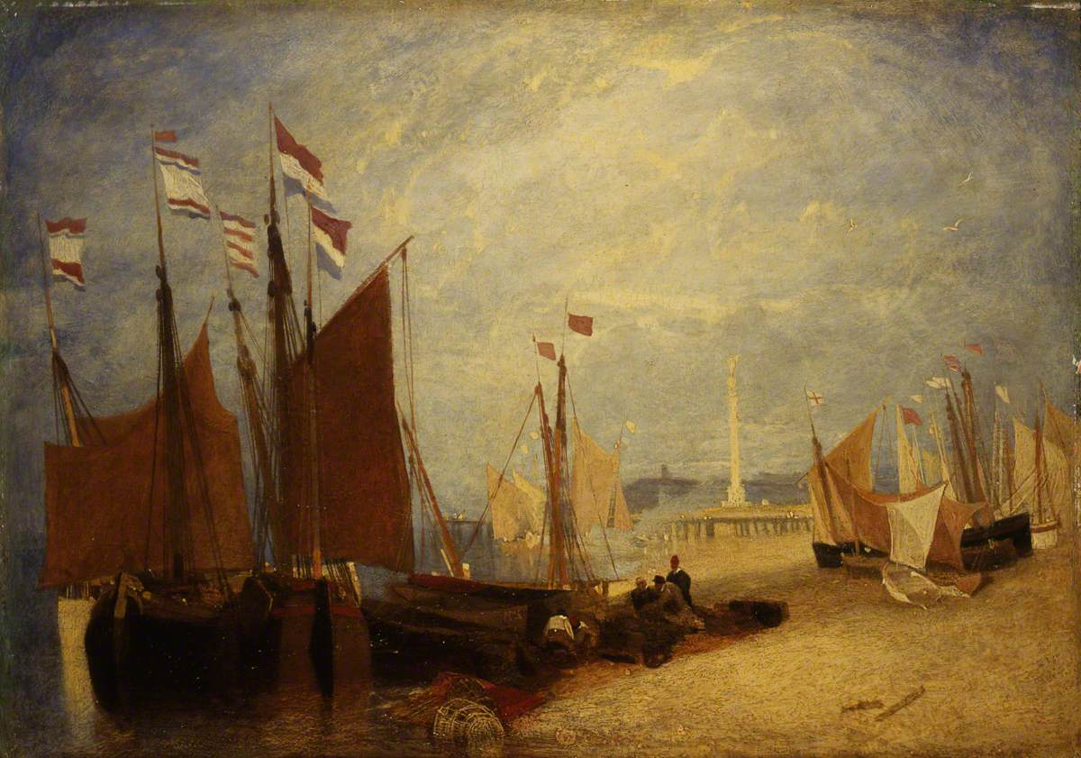 Dutch Boats off Yarmouth, Prizes during the War