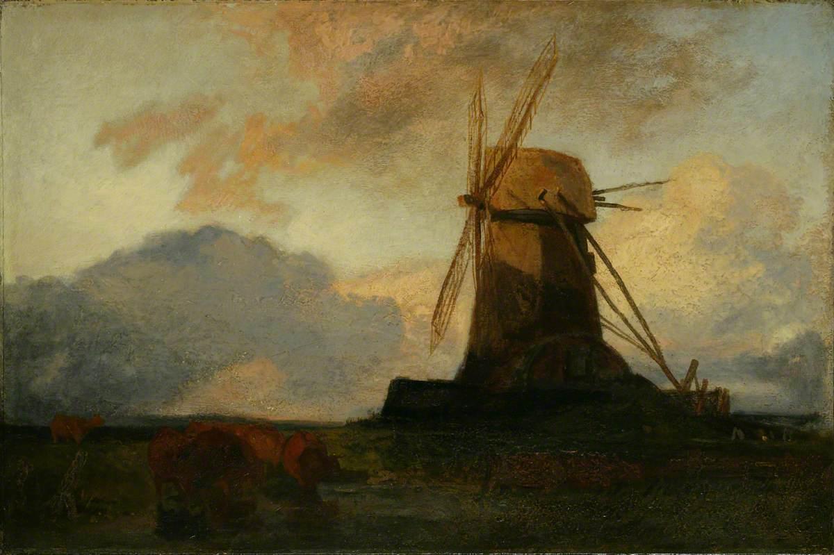 Lincolnshire Draining Mill