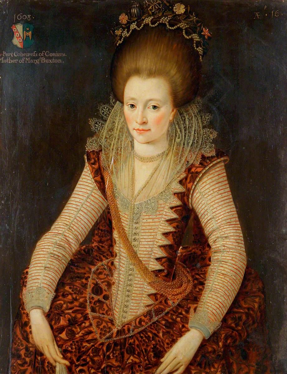 Elizabeth D'Oyley, Aged 16