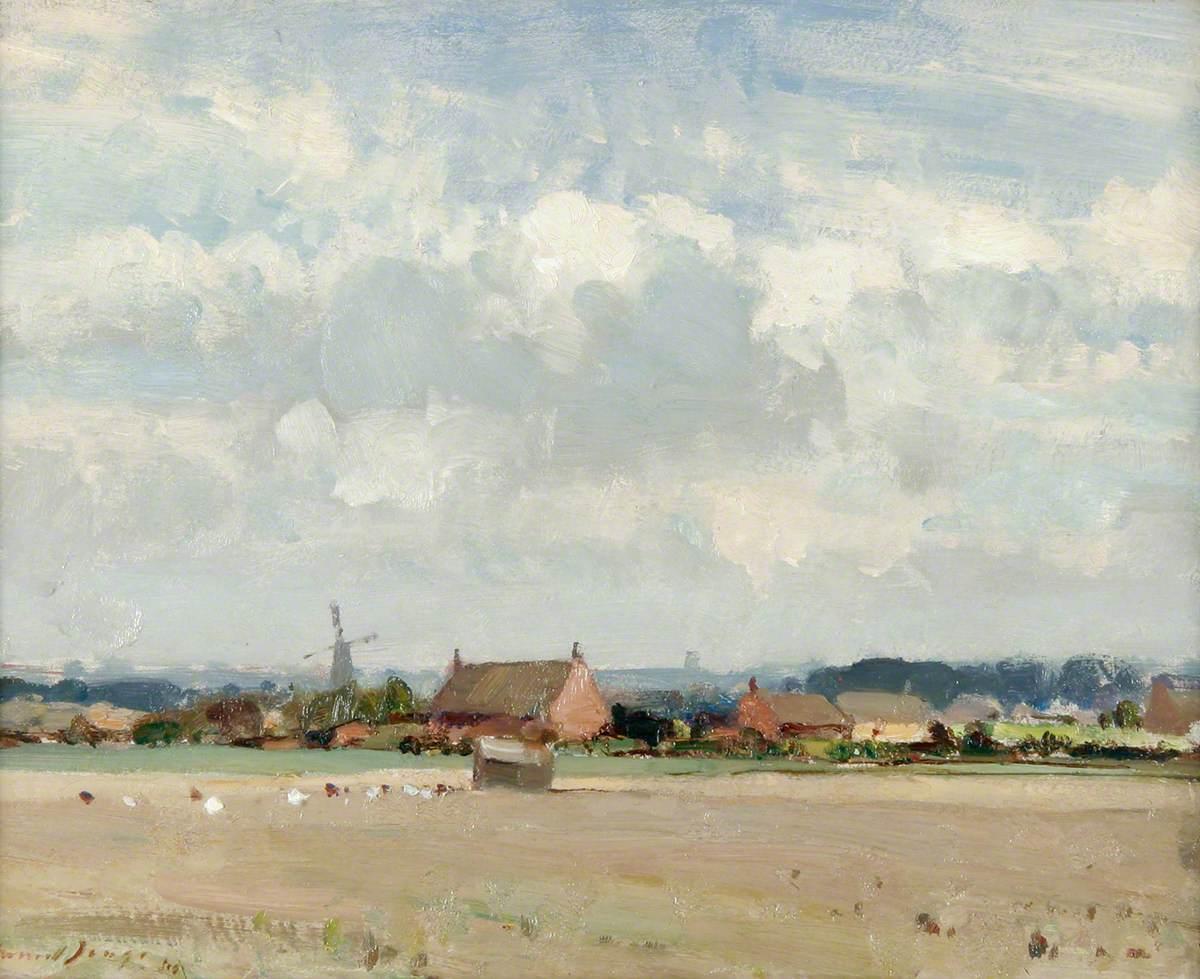 A Stubble Field near Ludham, Norfolk