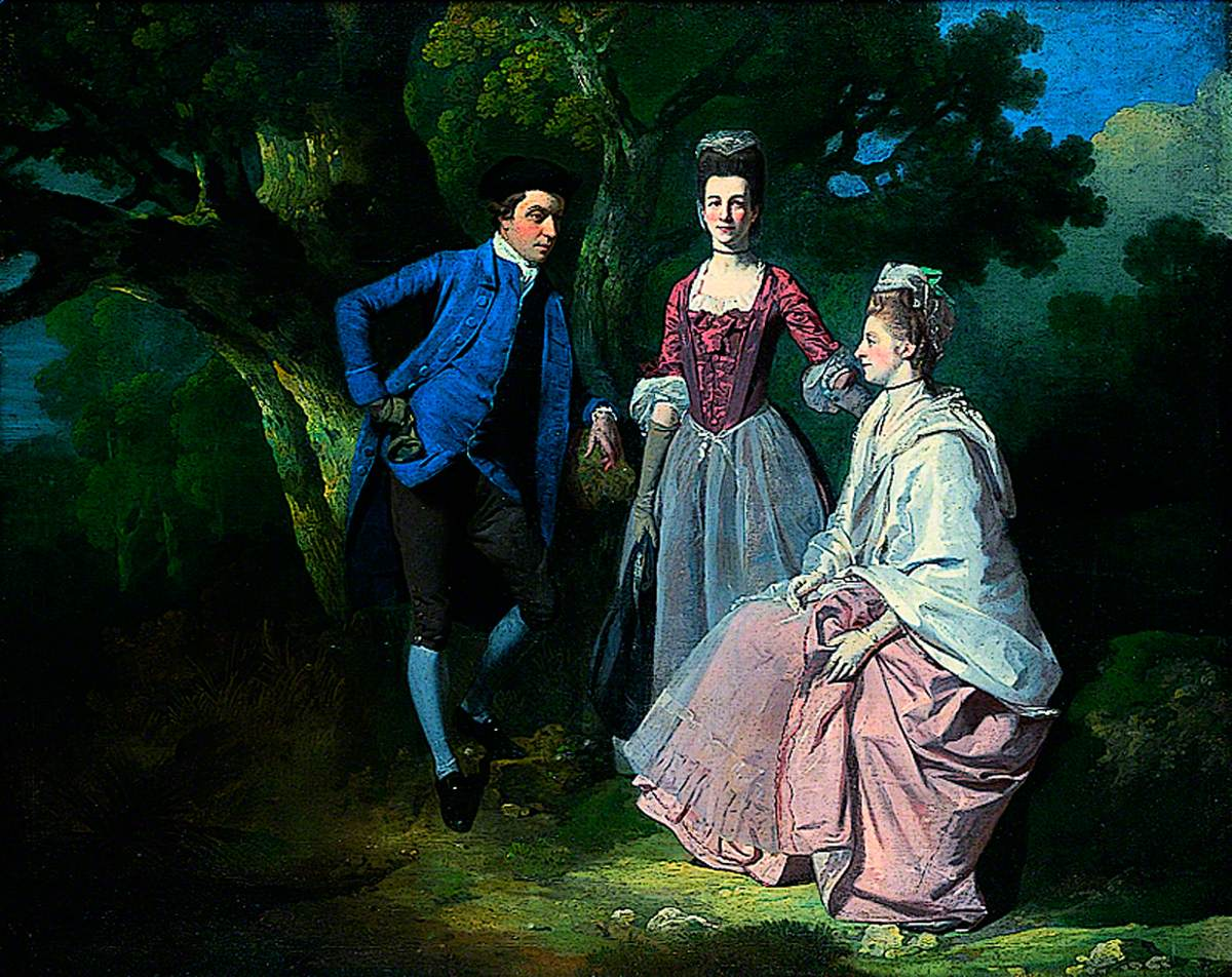 Edward and Priscilla Wakefield with Mrs Wakefield's Sister, Catherine Bell