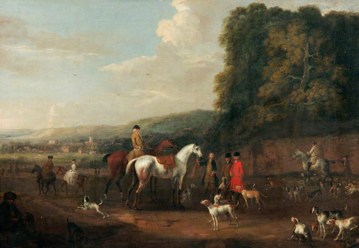 A Hunting Piece: Going-a-Hunting with Lord Biron's Pack of Hounds