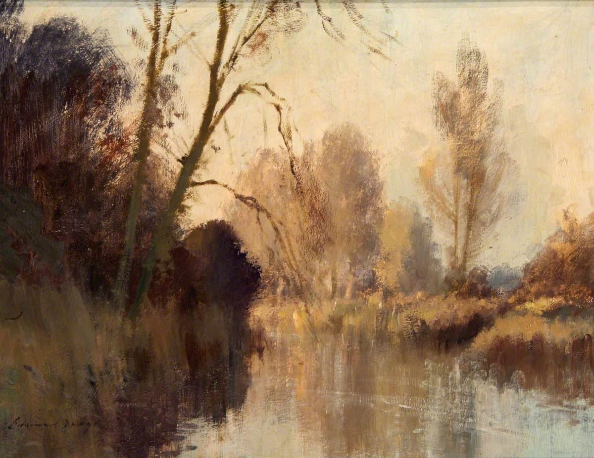 The River at Earlham, Norfolk