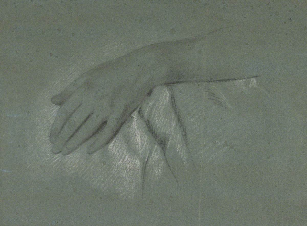 Study of a Lady's Left Hand