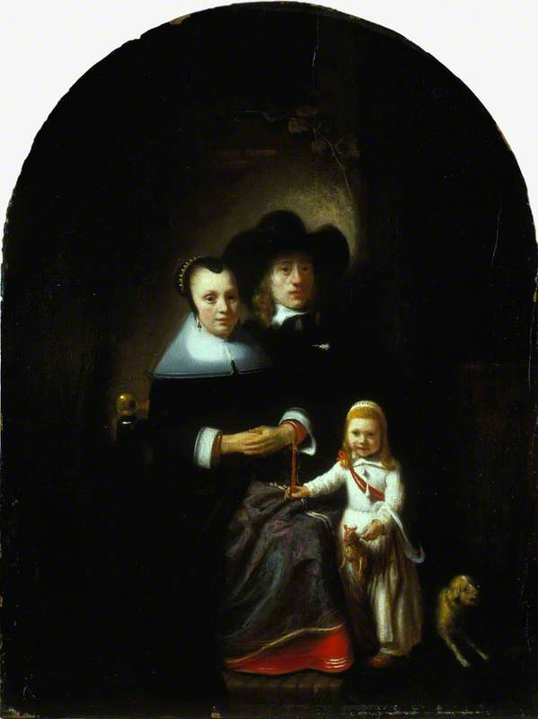 A Dutch Family Group