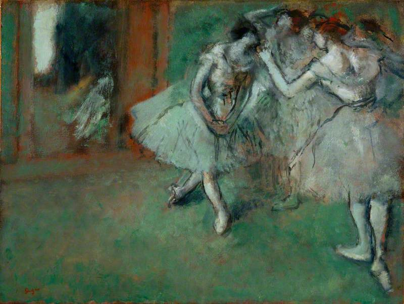 A Group of Dancers