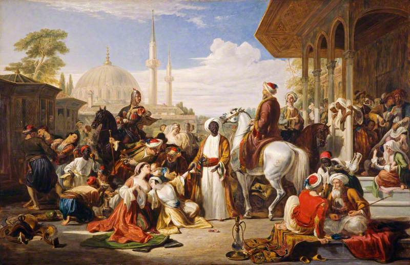 The Slave Market, Constantinople