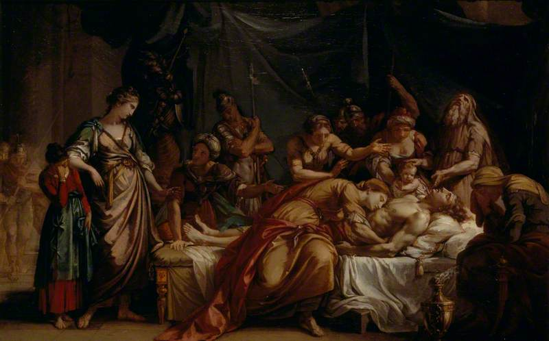 Andromache Bewailing the Death of Hector