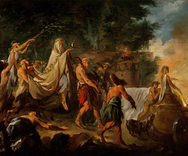 A Druids' Ceremony