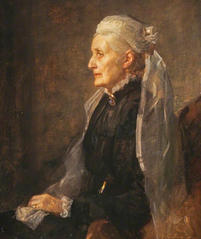 Christina Wilson (1827–1913), Mrs Thomas Steven