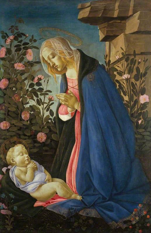 The Virgin Adoring the Sleeping Christ Child