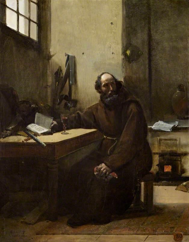Le maréchal de joyeuse au couvent des Capucins