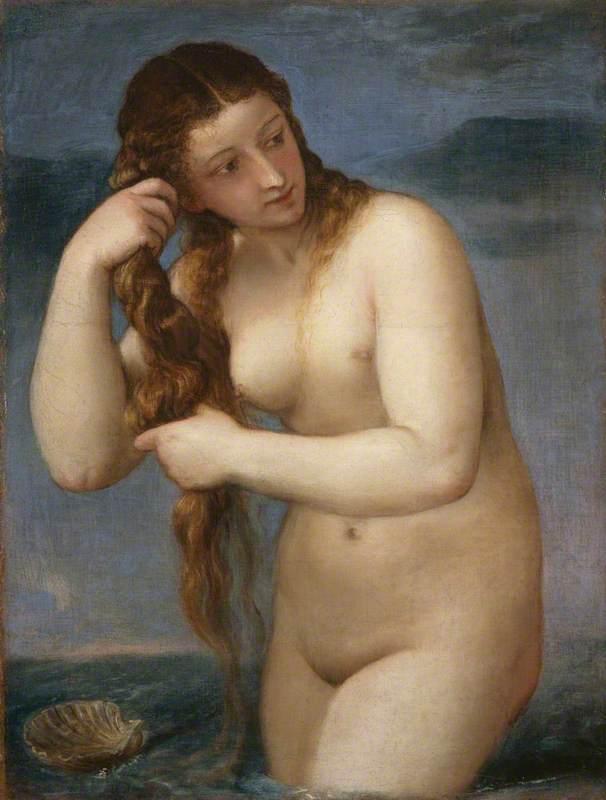 Venus Rising from the Sea (Venus Anadyomene)