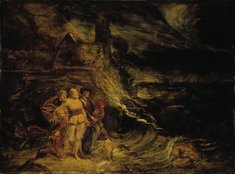 King Lear in the Storm