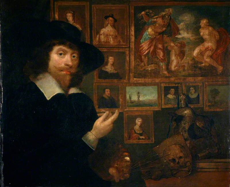 George Jamesone (1589/1590–1644), Portrait Painter, Self Portrait