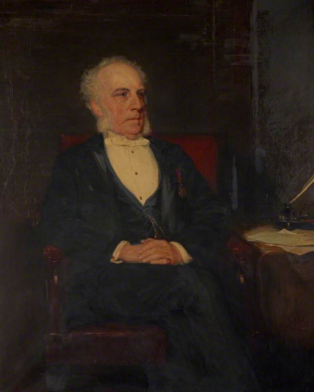 Bouverie Francis Primrose (1813–1898), Secretary to the Board of Trustees for Manufactures and Fisheries