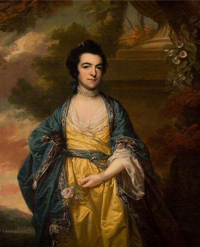 Elizabeth Campbell (d.1816), Mrs Joseph Adams