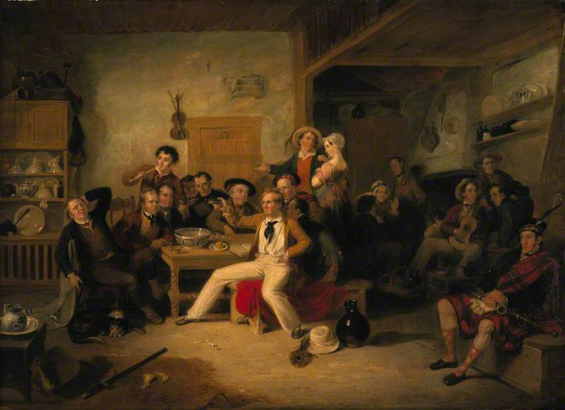 James Hogg (1770–1835), Poet (The Ettrick Shepherd) (The Ettrick Shepherd's House Heating or The Celebration of his Birthday)