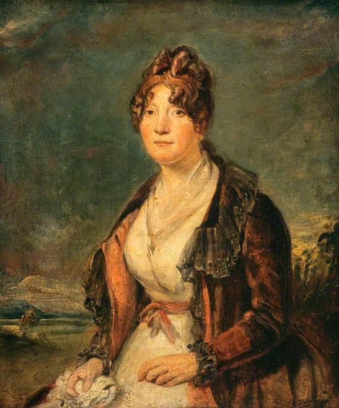Margaret Chalmers (d.1843), Mrs Lewis Hay, Friend and Correspondent of Robert Burns