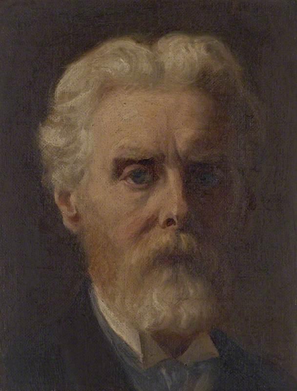 James Archer (1822–1904), Artist, Self Portrait