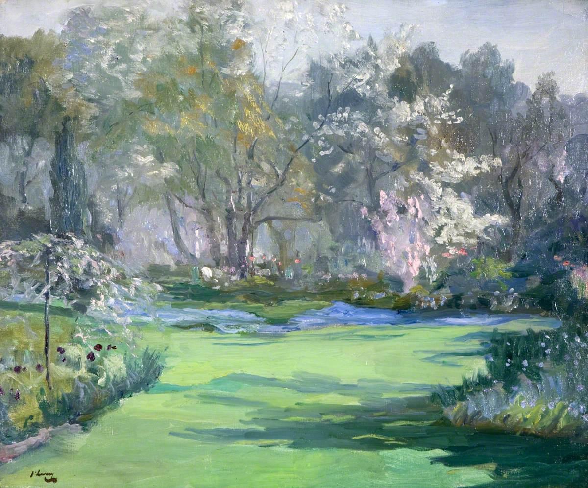 Spring, the Garden, Villa Sylvia