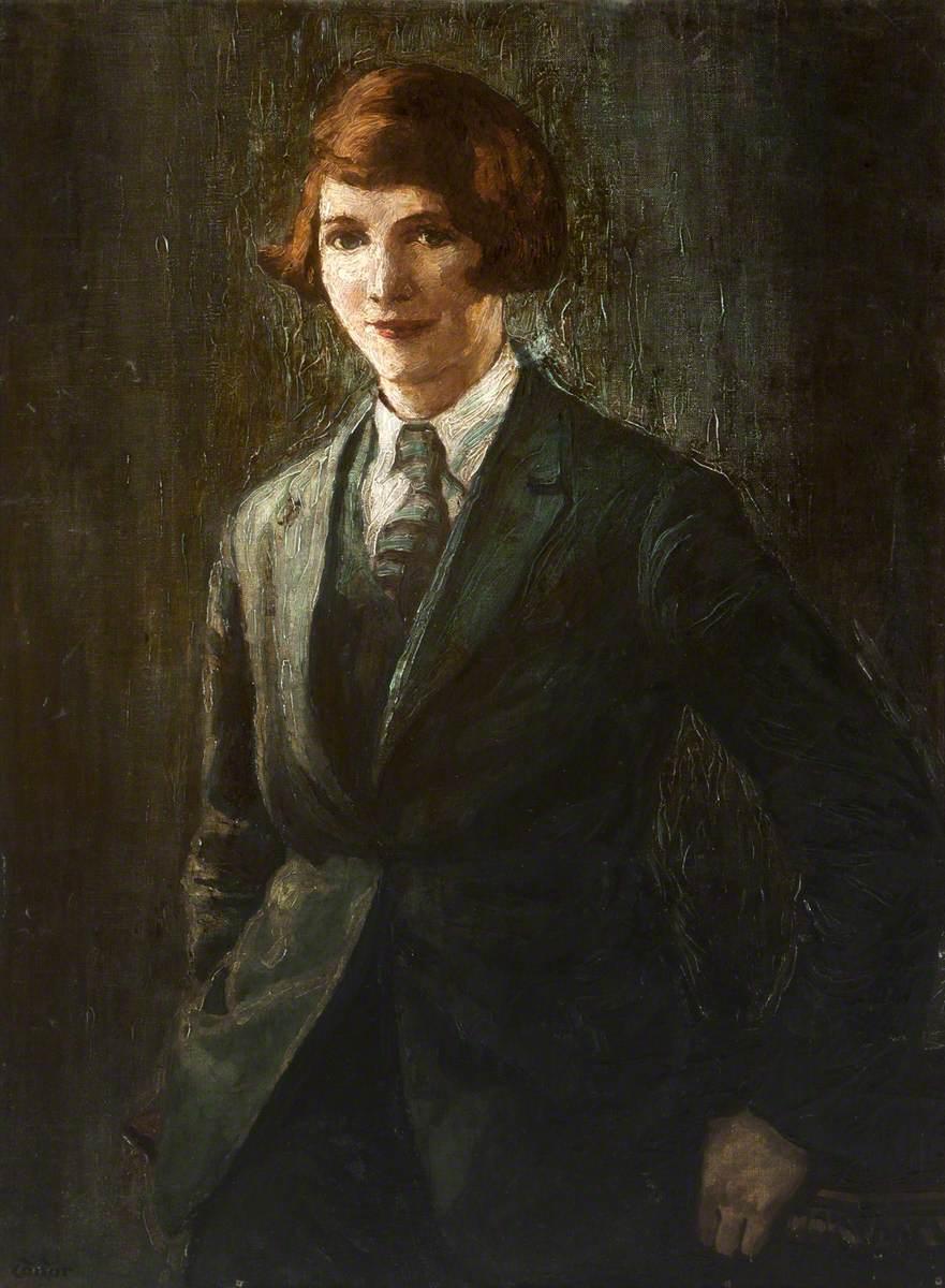 Edna Helen (Girl in a Green Suit)