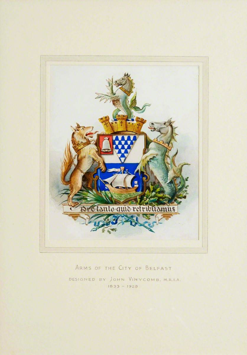 Coat of Arms of the City of Belfast