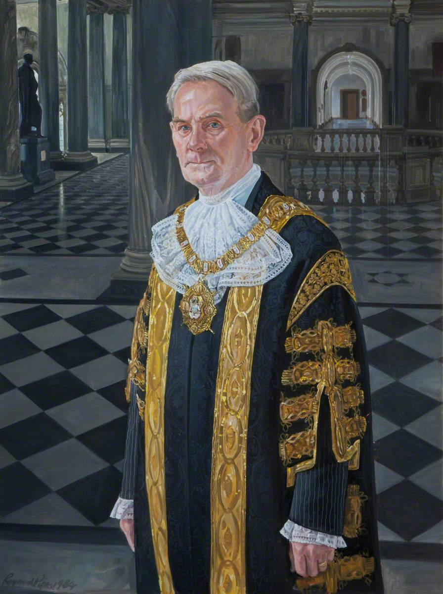 Thomas William Sanderson Patton, The Right Honorable, The Lord Mayor of Belfast (1982–1983)