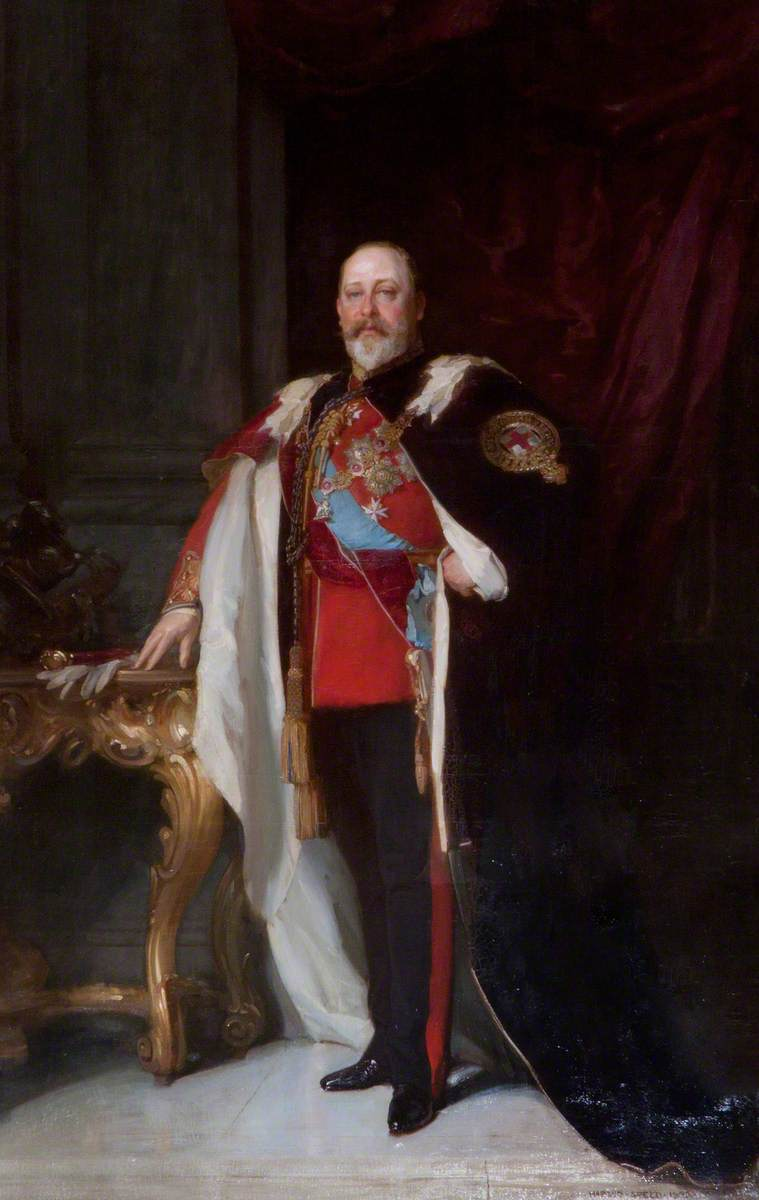 King Edward VII (1841–1910), By the Grace of God, of the United Kingdom of Great Britain and Ireland and of the British Dominions beyond the Seas, King, Defender of the Faith, Emperor of India
