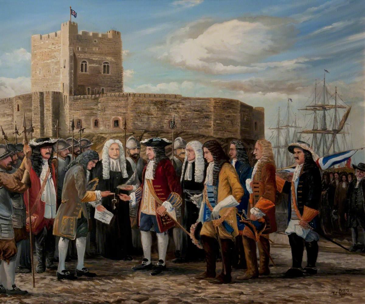 William III at Carrickfergus, 1690