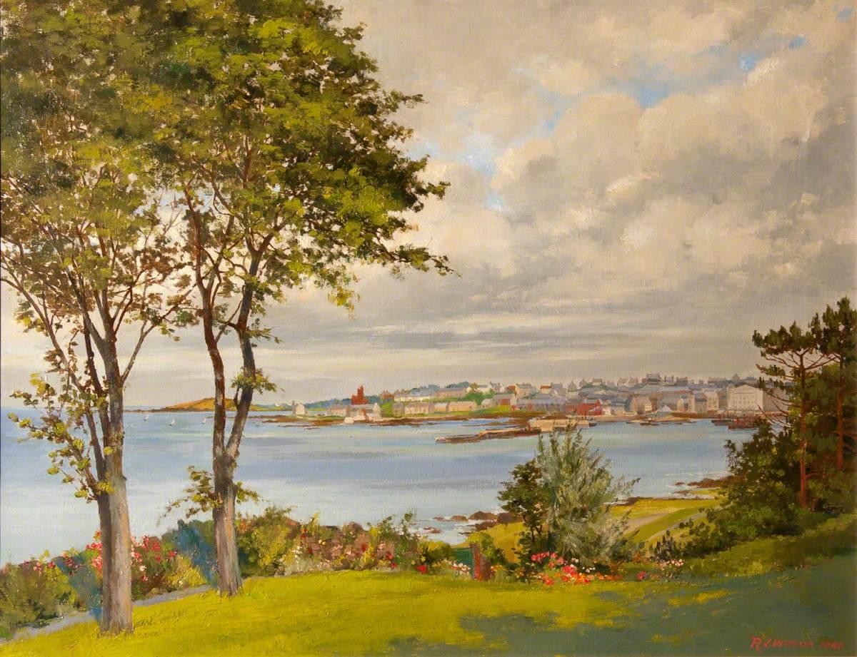 View of Bangor from Marine Gardens