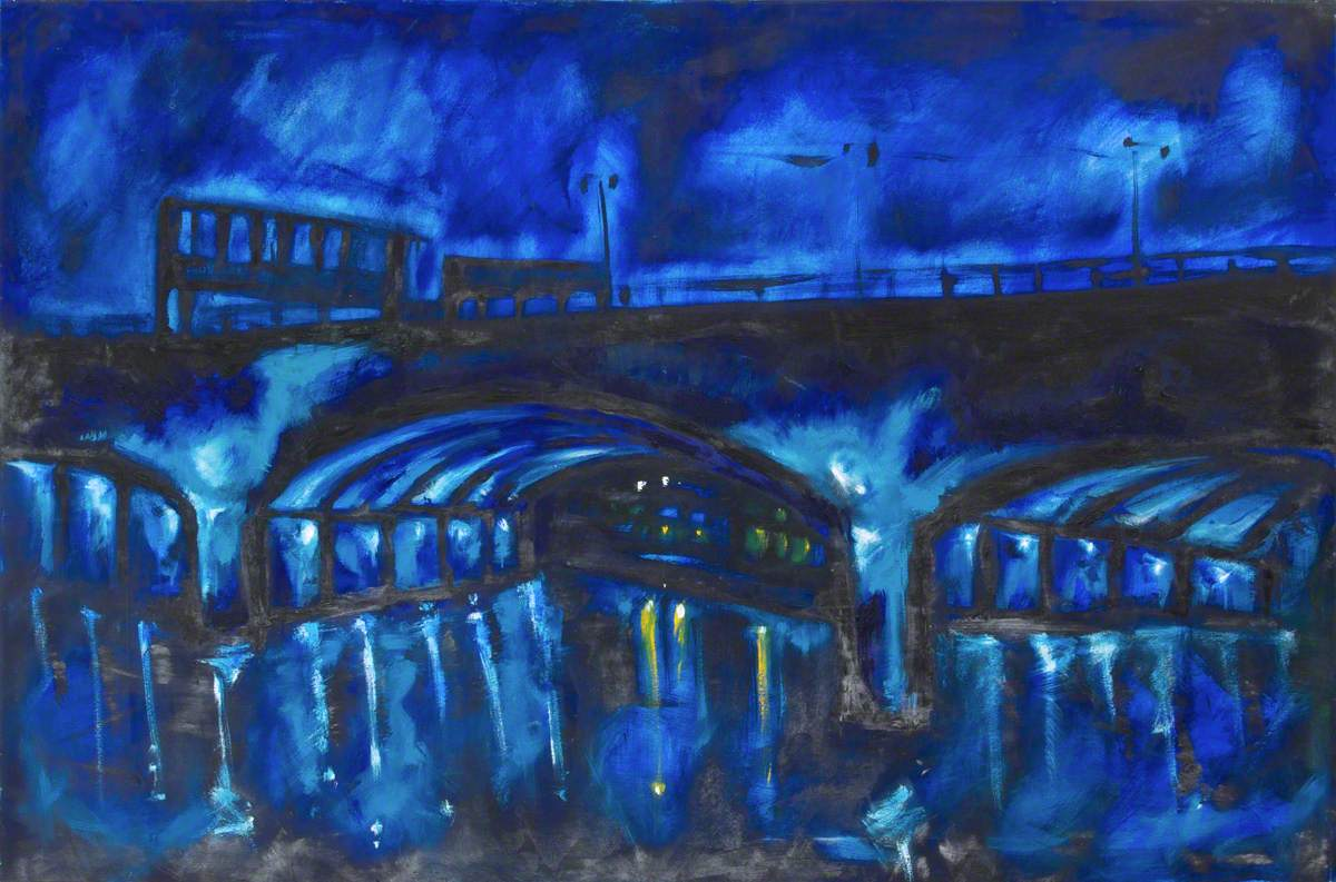 The Lagan Out of the Blue