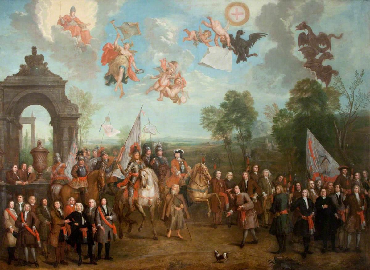 William III, the Duke of Schomberg and the Pope