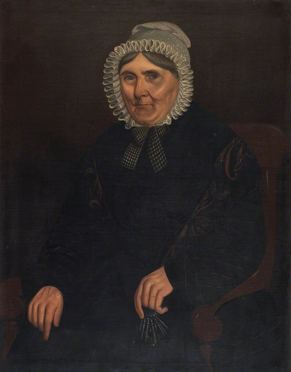 Half-Length Portrait of a Woman