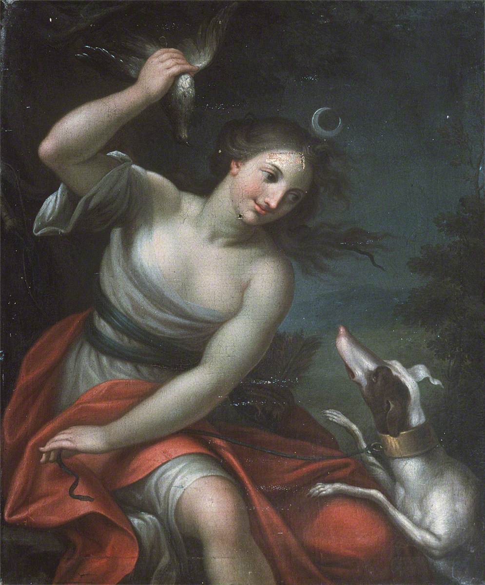 Diana and Her Hound