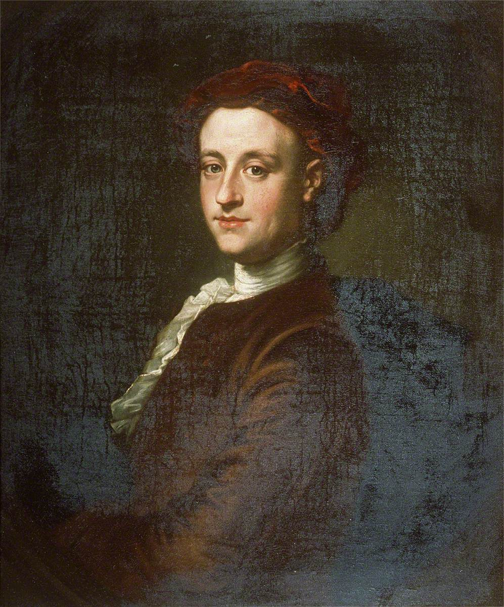 Portrait of a Gentleman in a Red Turban