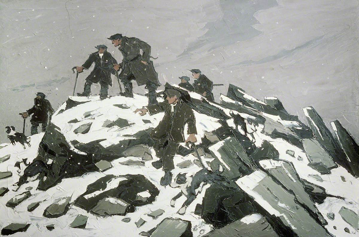 The Gathering (Farmers on Glyder Fach)